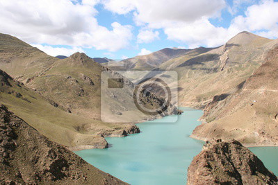 Manla Reservoir  in Tibet