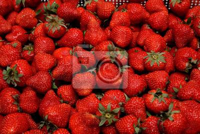 Fototapete Many Strawberries