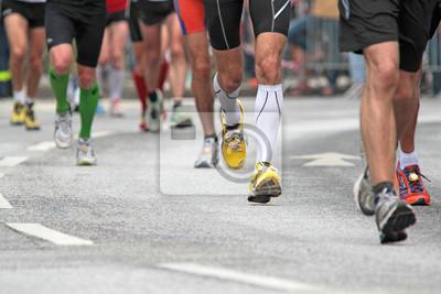 c906e7120eec22 Marathon-beine fototapete • fototapeten Transponder