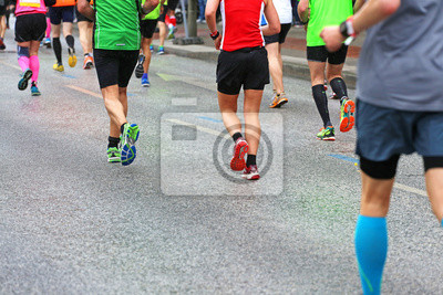042054d724ffda Marathonläufer 2015 fototapete • fototapeten Laufschuhe