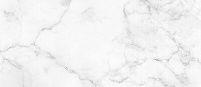 Fototapete Marble granite white panorama background wall surface black pattern graphic abstract light elegant gray for do floor ceramic counter texture stone slab smooth tile silver natural.