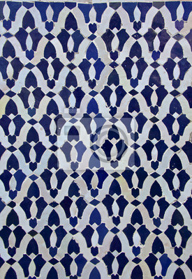 Marokkanische Fliesen Muster Fototapete Fototapeten Casablanca