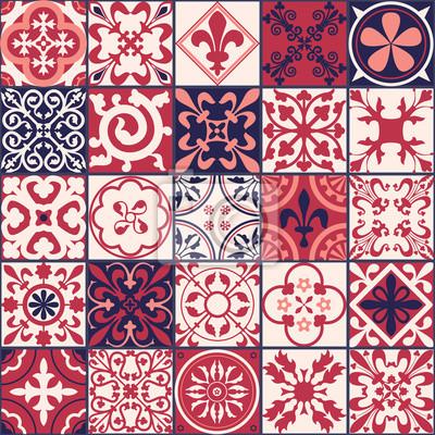 Marokkanische Fliesen Muster Fototapete Fototapeten Tunesisch