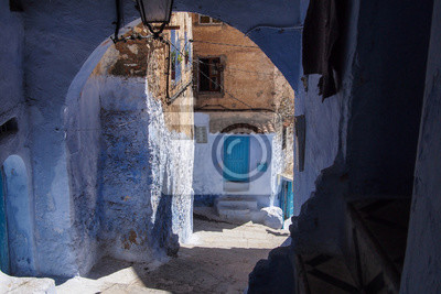 Marokko - Blaue Gasse in Chefchaouen