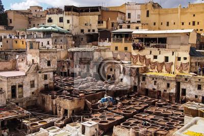 Marokko - Gerberei in Fes
