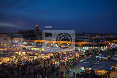 Marokko - Marrakesch - Dschemna El Fna