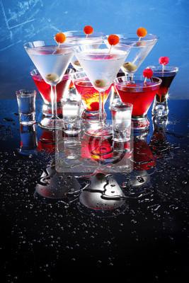 Martini, Cosmopolitan, russisch und Schützen