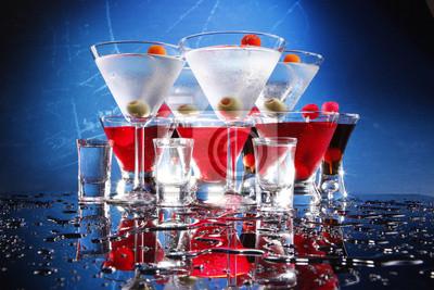 Martini, Cosmopolitan, russische und Schützen