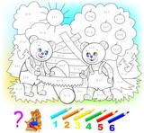Pädagogische seite mit übungen für kinder bei addition und ...