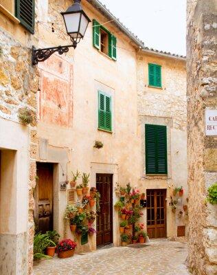 Fototapete Medieval Valldemosa traditionellen Mallorca Dorf
