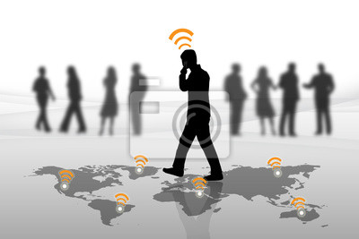 Menschen per Telefon zu kommunizieren.