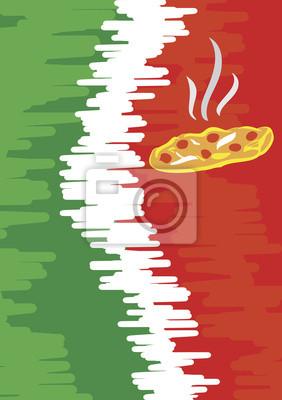 Menü für Pizzeria