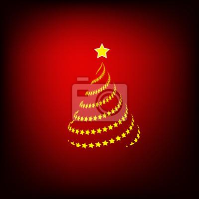Merry christmas card fototapete • fototapeten Frohe Weihnachten ...