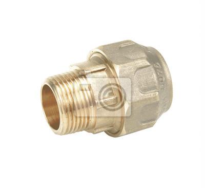 Gut bekannt Metall-und kunststoff-ventil wasserleitung anschluss, sanitär QZ19