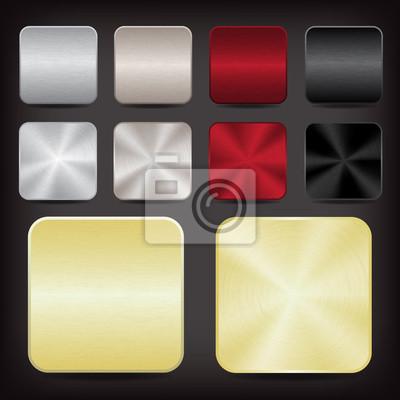 Metallic-App-Symbole