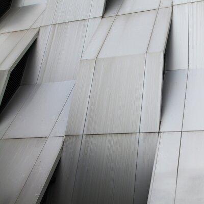 Fototapete Metallwand