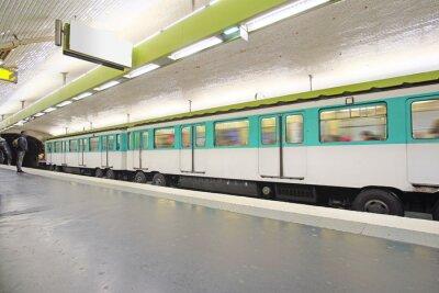 Fototapete Metro ist sehr beliebt in Paris