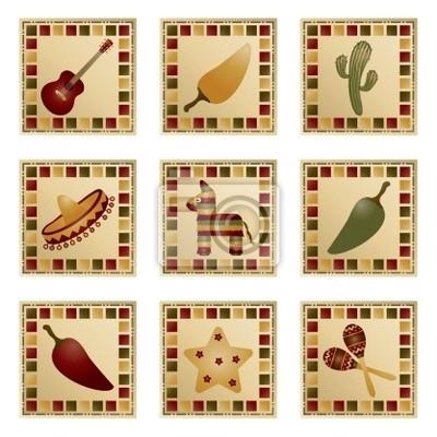 mexikanisch Quadrate