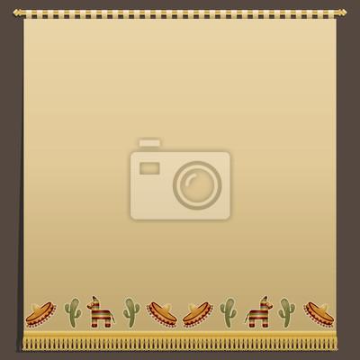 mexikanisch Wand hängen