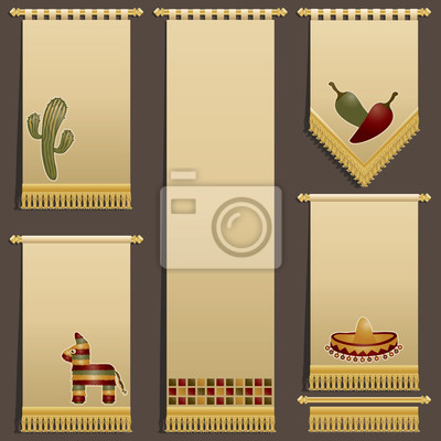 mexikanisch Wandbehänge
