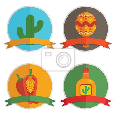 mexikanische Abzeichen