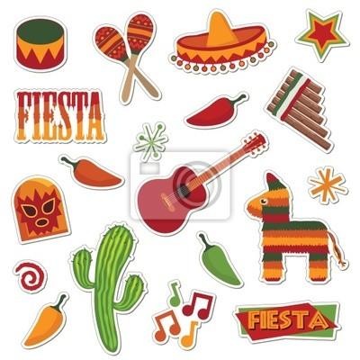 mexikanische Aufkleber