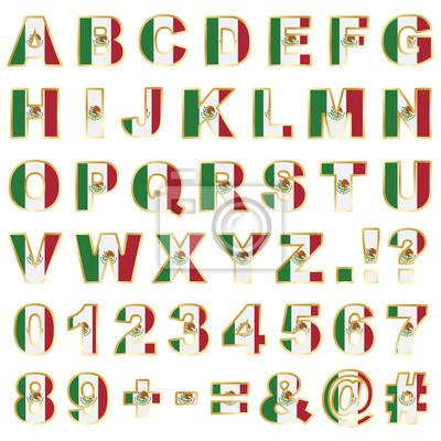 Mexiko Alphabet