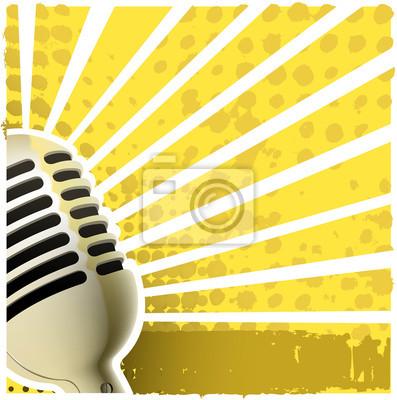 Mikrofon backround