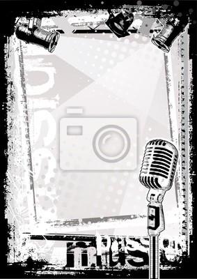 Mikrofon Hintergrund