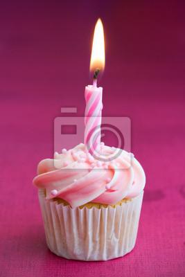 Mini Geburtstag Cupcake Fototapete Fototapeten Gefrostet