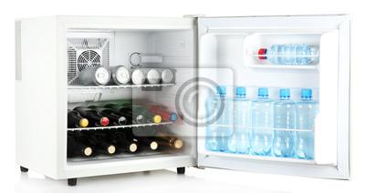 Mini Kühlschrank Gas : Mini kühlschrank voller flaschen alkoholische getränke und wasser