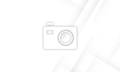 Fototapete Minimal geometric white light background abstract design. vector EPS10.