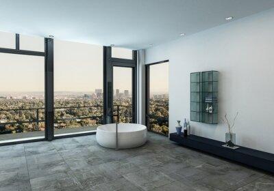 Minimalistisches luxus-interieur fototapete • fototapeten appartment ...