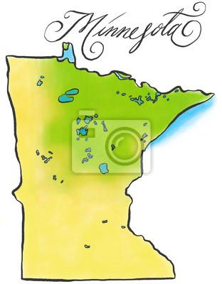 Minnesota Karte