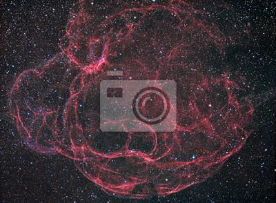 Mit einem Teleskop und einer wissenschaftlichen CCD-Kamera abgebildet