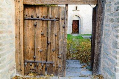 Fototapete Mittelalterliche Kirche