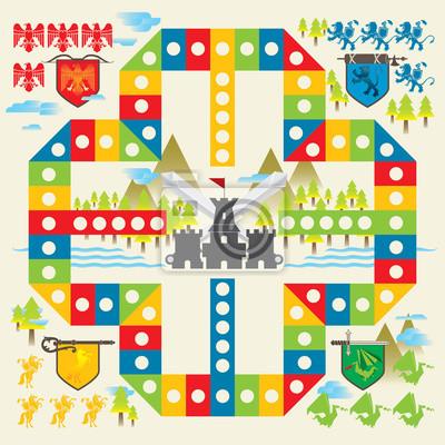 Mittelalterliches Brettspiel