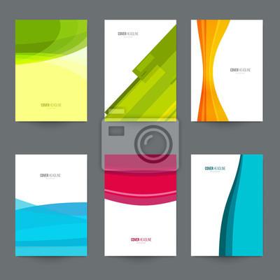 Mockup a4 für branding-präsentation, werbung. set vorlage für ...