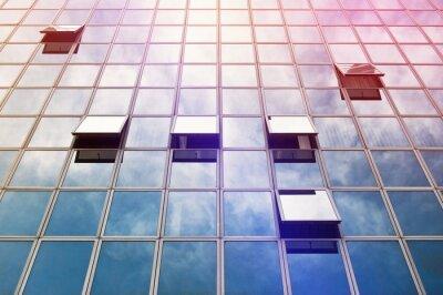 Fototapete Moden Business Office Building Windows