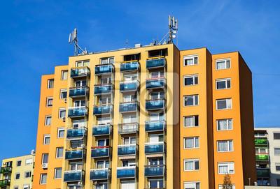 Modern apartment building fototapete • fototapeten appartment, ec ...