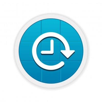 Fototapete Modern App Button