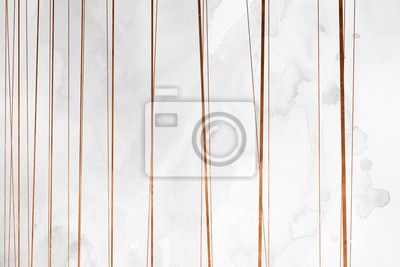 Fototapete Modern contemporary creamy copper background. Luxury girlish texture. Delicious and clean backdrop with geometric and artistic elements.
