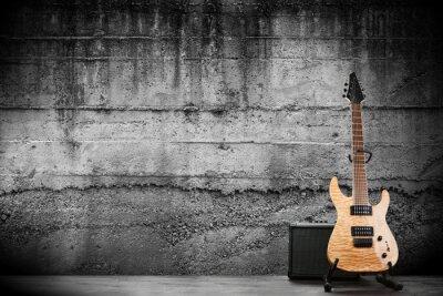 Fototapete Modern electric guitar
