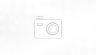 Fototapete Modern halftone white and grey background. Design decoration concept for web layout, poster, banner