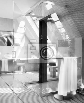 Moderne Duschkabine Fototapete Fototapeten Anker Innenarchitektur