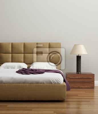 Moderne elegante luxus kalk schlafzimmer fototapete • fototapeten ...