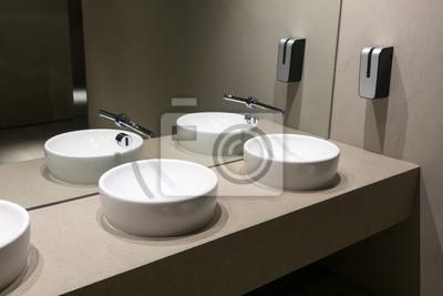 Moderne europäische keramik-waschbecken, waschtische mit ...