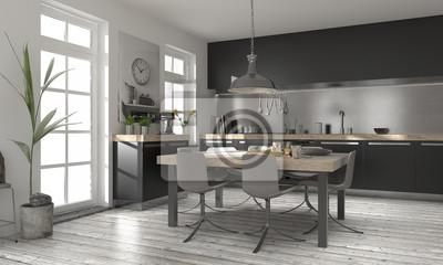 Moderne kuchen design moderne kchen modern moderne kuche for Einbaukuche kleiner raum