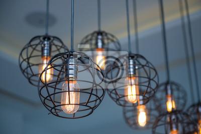 Moderne Lampen 81 : Moderne lampe an der decke hängen fototapete u fototapeten