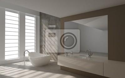 Fototapete: Moderne luxus-badezimmer design innen